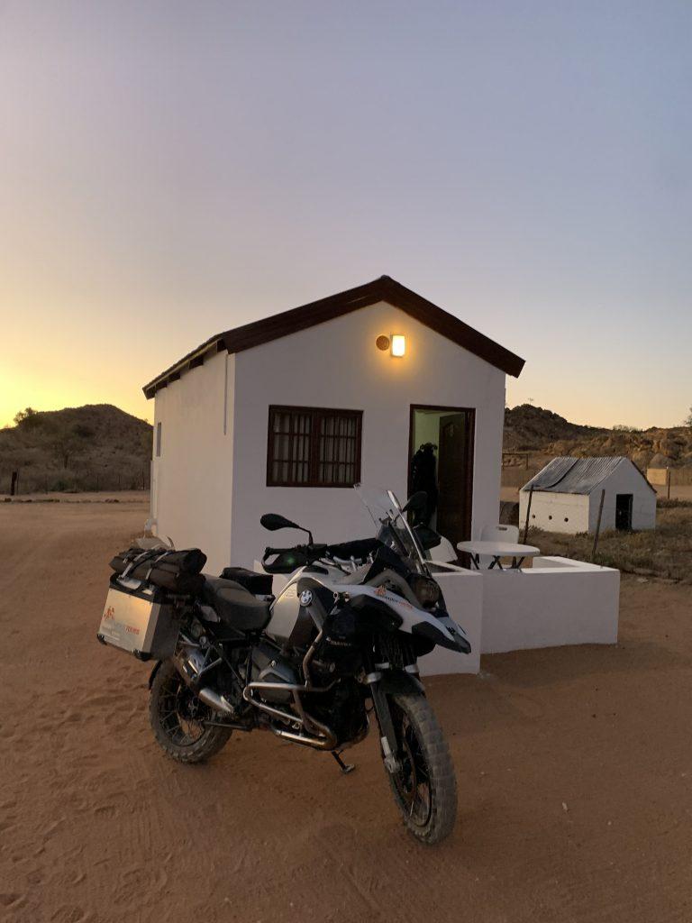 BMW R 1200 GS Adventure White House Namibia