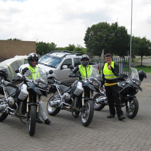 Start BMW Motorrad Tour 2012 Johannesburg