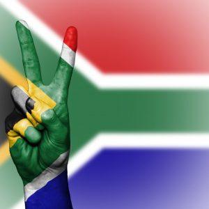 Finger Südafrika