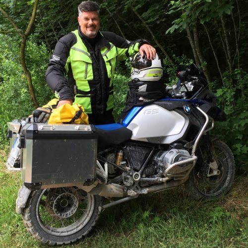 Michael Bresser & GS 1200 GS Adventure LC Deutschland