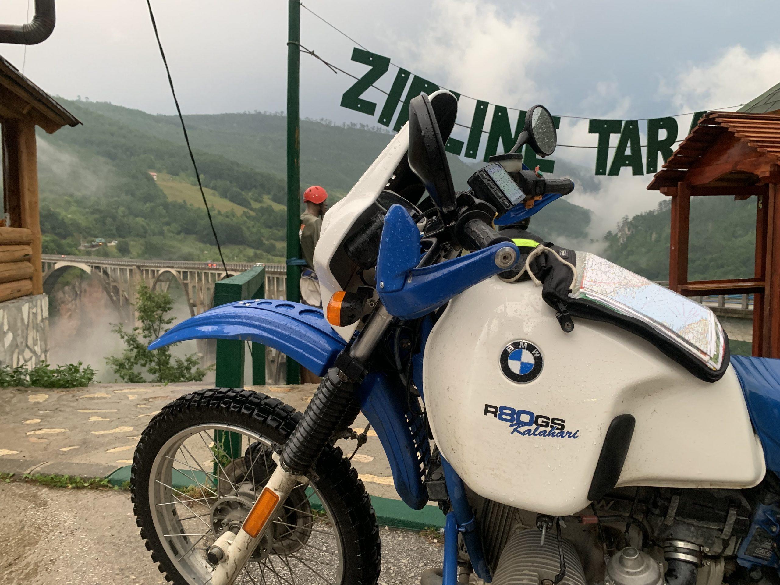 BMW R 80 Tara Schlucht